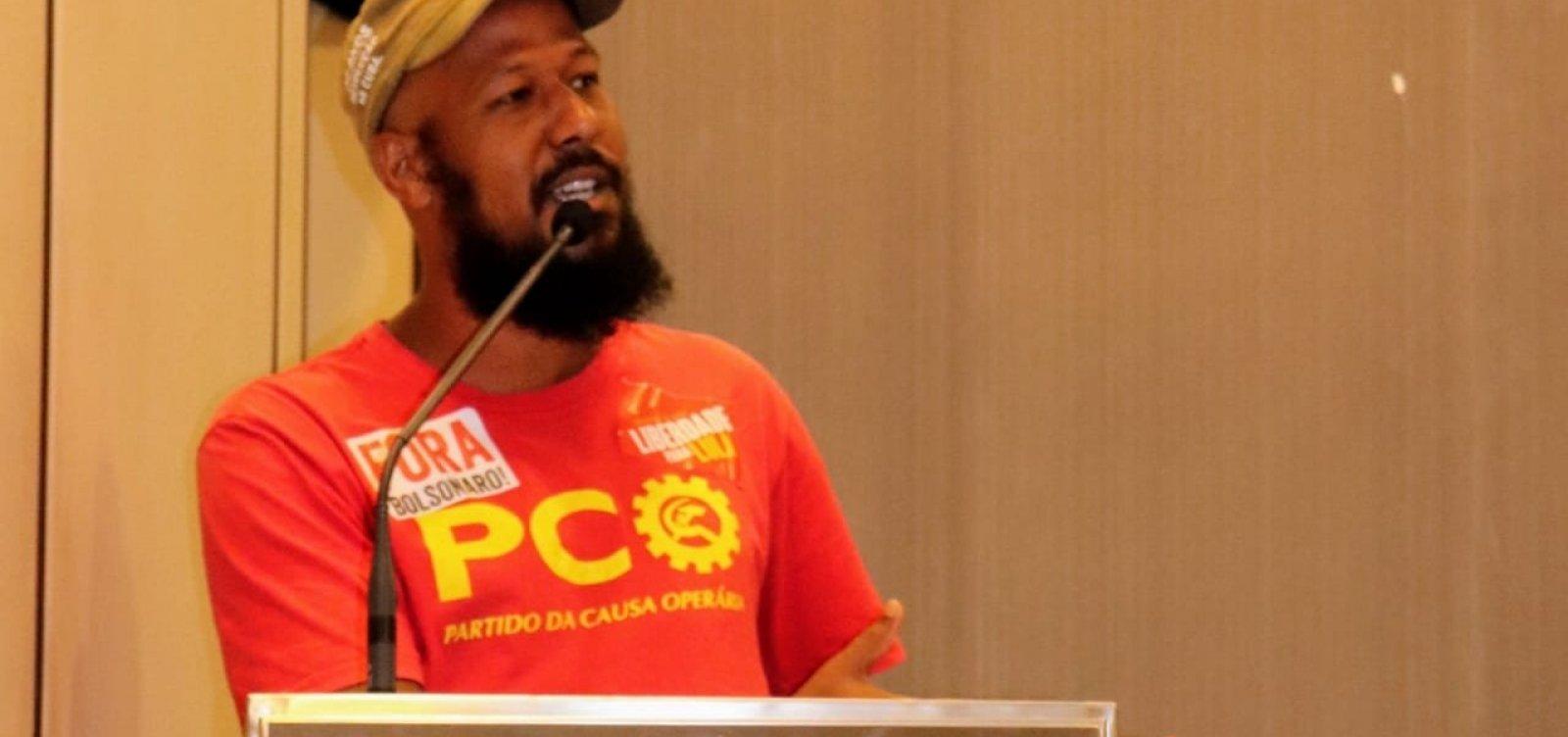 [Candidato a prefeito pelo PCO diz que tem plano de governo unificado]