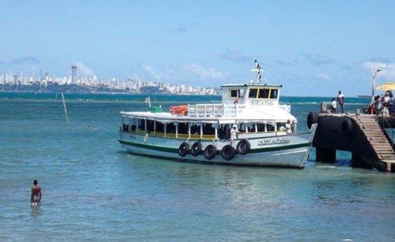 [Travessia Salvador-Mar Grande é interrompida em razão da maré baixa]