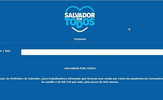 [Sétima parcela do 'Salvador por Todos' começa a ser paga nesta sexta-feira]