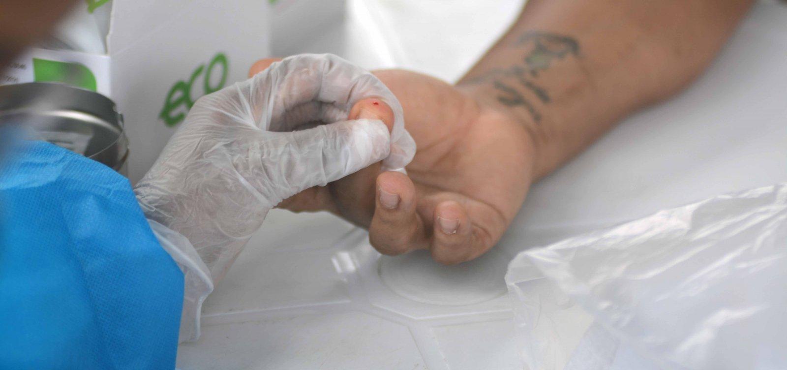 [Salvador registra 164 novos casos de Covid-19 e 21 mortes pela doença em 24h]