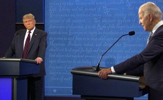 [EUA: Trump e Biden trocam farpas em primeiro debate presidencial nas eleições 2020]