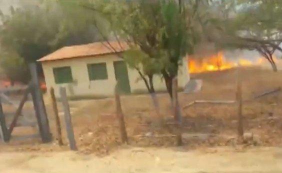 [Inpe: queimadas já atingiram 400 km de vegetação na Bahia em 2020]