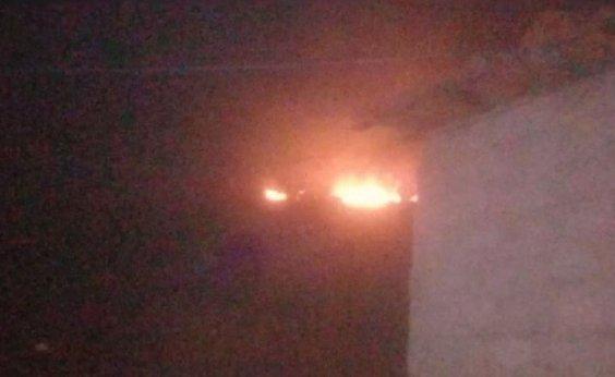 [Incêndio atinge Serra da Vila Amorim, no oeste da Bahia]