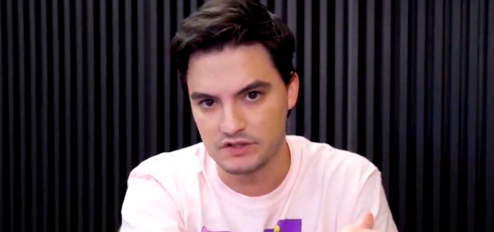 [PGR arquivou pedido de inquérito sobre publicações de Felipe Neto no Twitter ]
