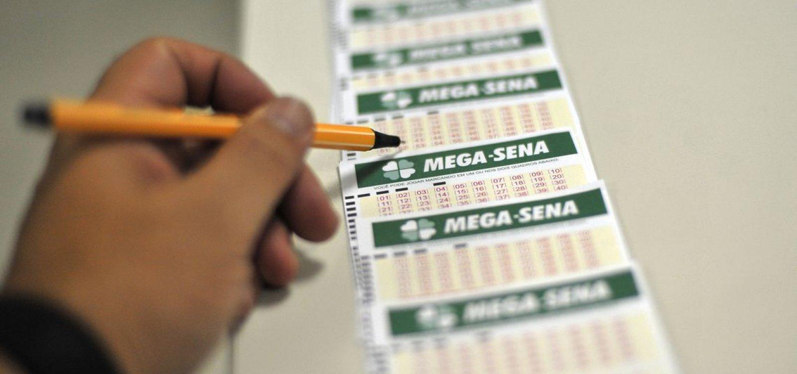 [Mega-Sena acumula e prêmio estimado para o próximo sorteio é de R$ 6,5 milhões]
