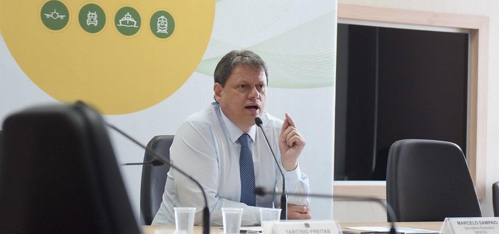 [Ministro da Infraestrutura libera trecho da BR-116 e promete mais seguimentos até o fim do ano]