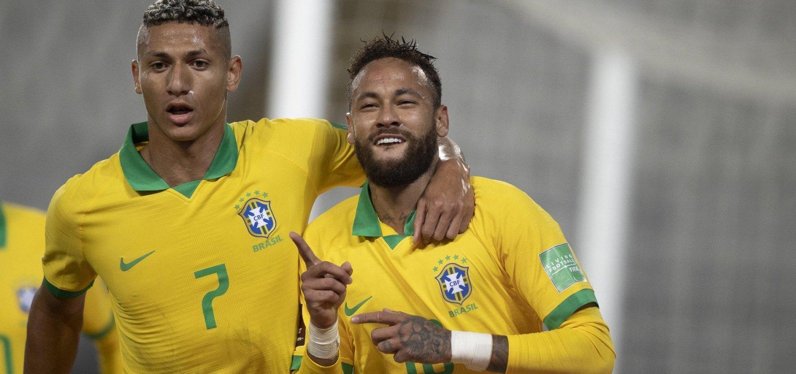 [Brasil vira contra o Peru e vence por 4 a 2 nas Eliminatórias]