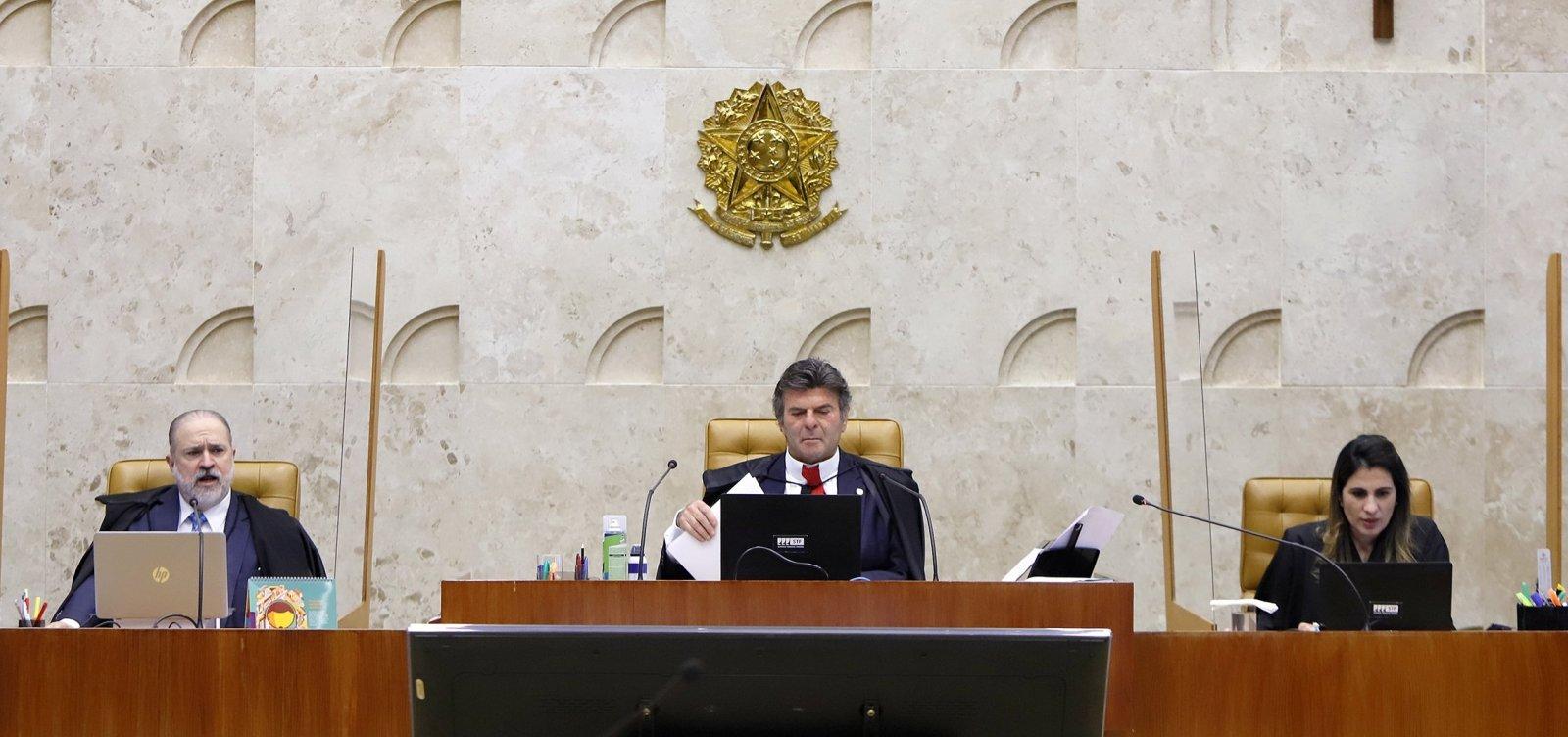 [Maioria do STF vota pela manutenção da prisão do traficante André do Rap ]