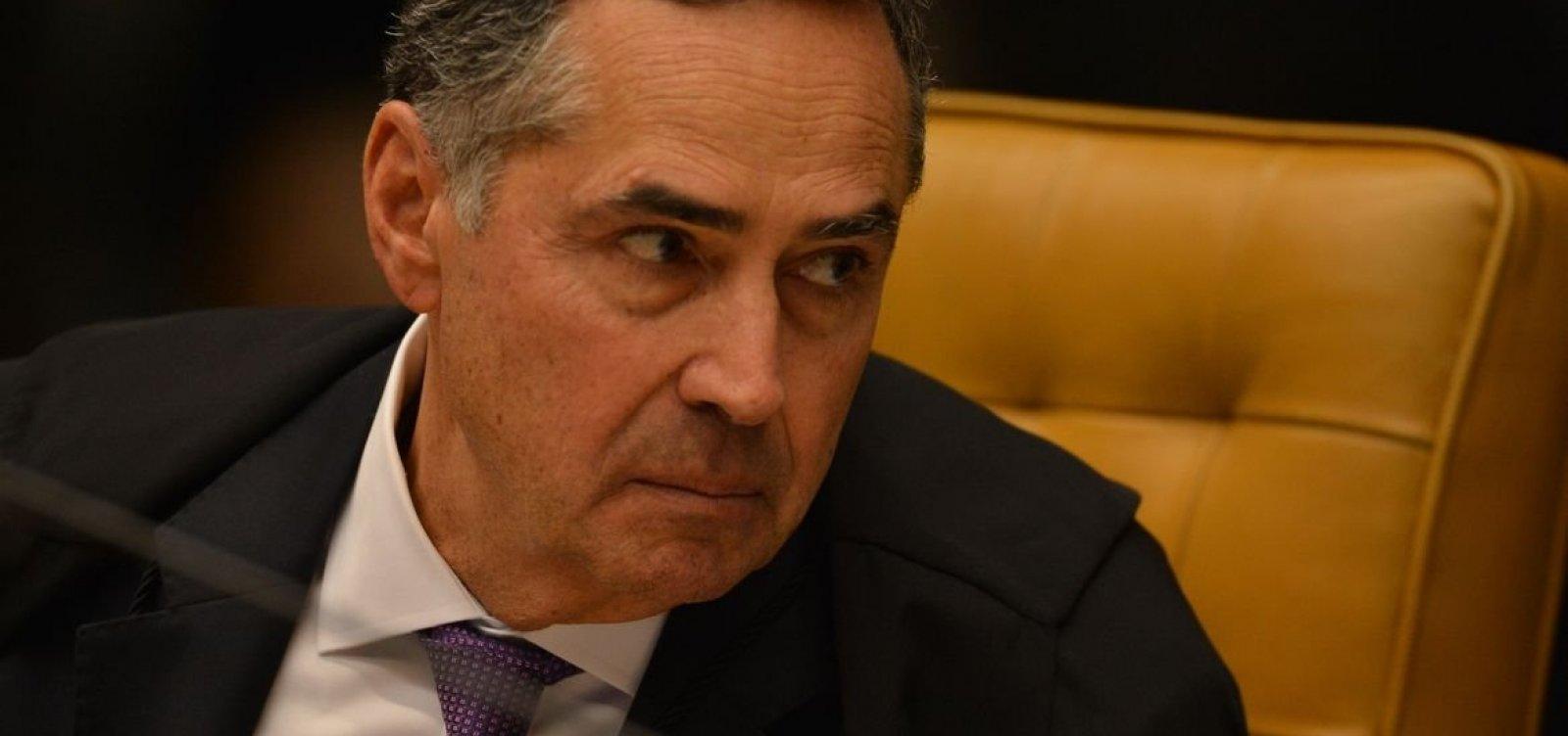 [Barroso submete afastamento de Chico Rodrigues ao plenário do STF]