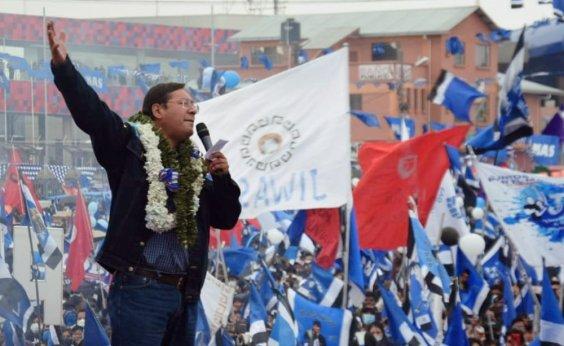 [Lucho Arce é eleito presidente da Bolívia no primeiro turno]