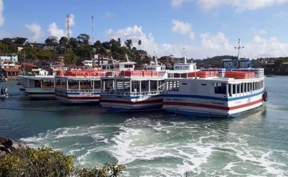 [Travessia Salvador-Mar Grande é interrompida até 12h30 por causa de maré baixa]