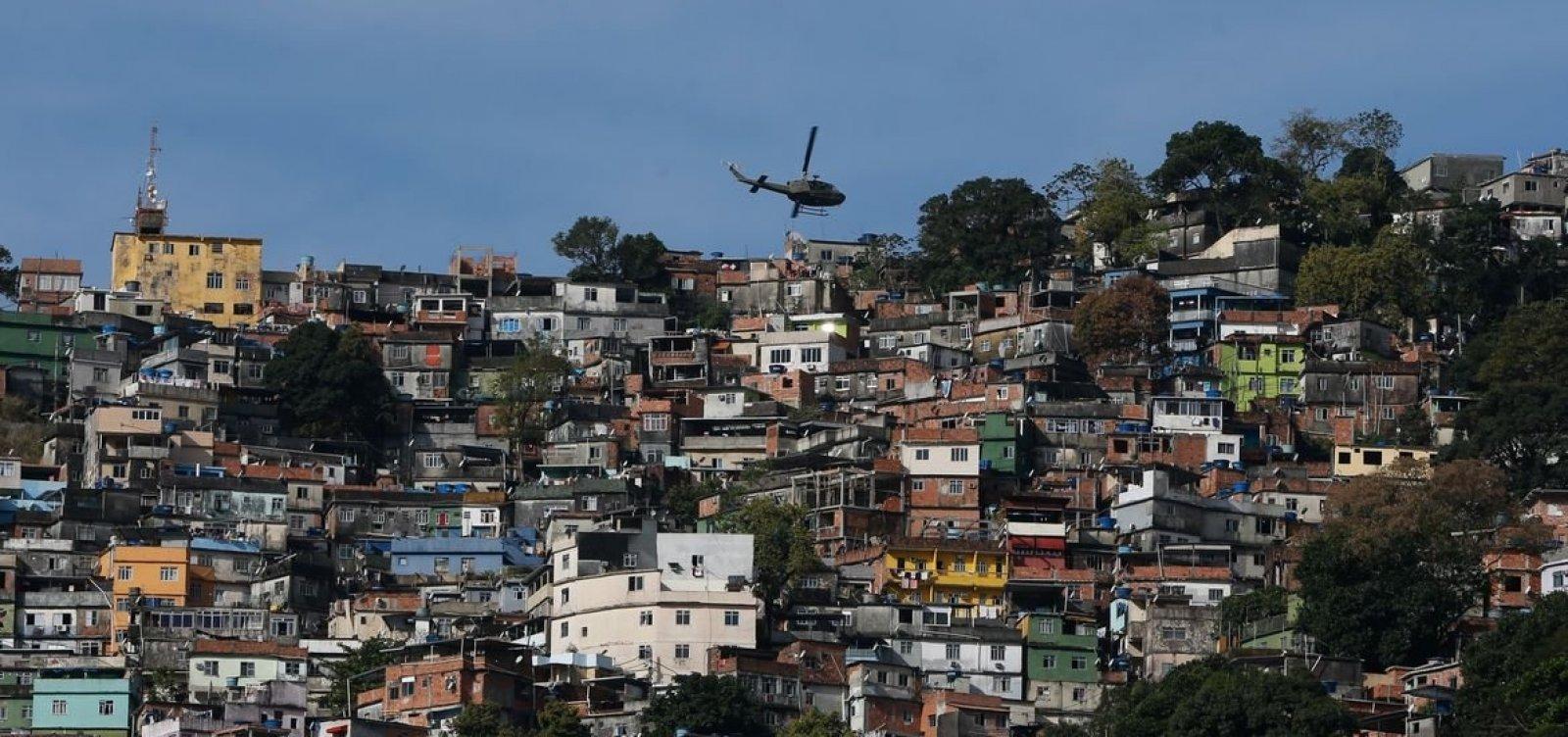 [Milícia controla 57% da área do Rio de Janeiro, diz estudo]