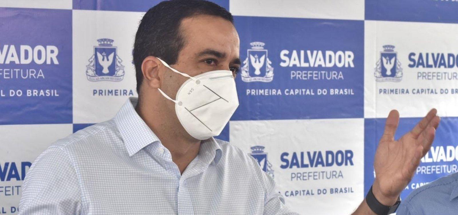 [Pesquisa aponta Bruno Reis com 52,1% das intenções de voto em Salvador]