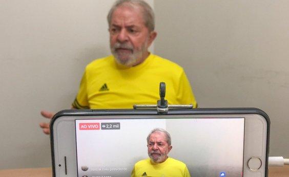 [Lula culpa imprensa: 'Não permite surgimento da oposição']