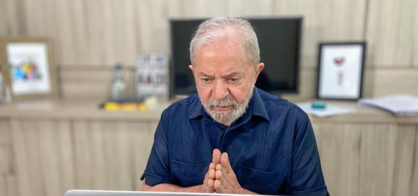 [Lula: 'ACM era o único cara que sabia divulgar a Bahia']