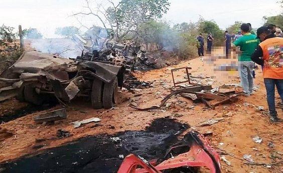 [Inquérito do MPT vai investigar explosão em caminhão que matou 3 funcionários no oeste da Bahia]
