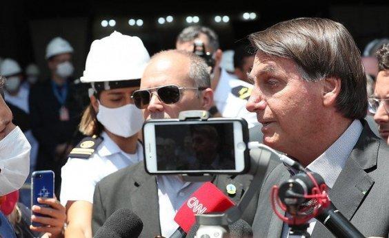 ['Já mandei cancelar', diz Bolsonaro sobre protocolo de intenções de garantir vacina CoronaVac]