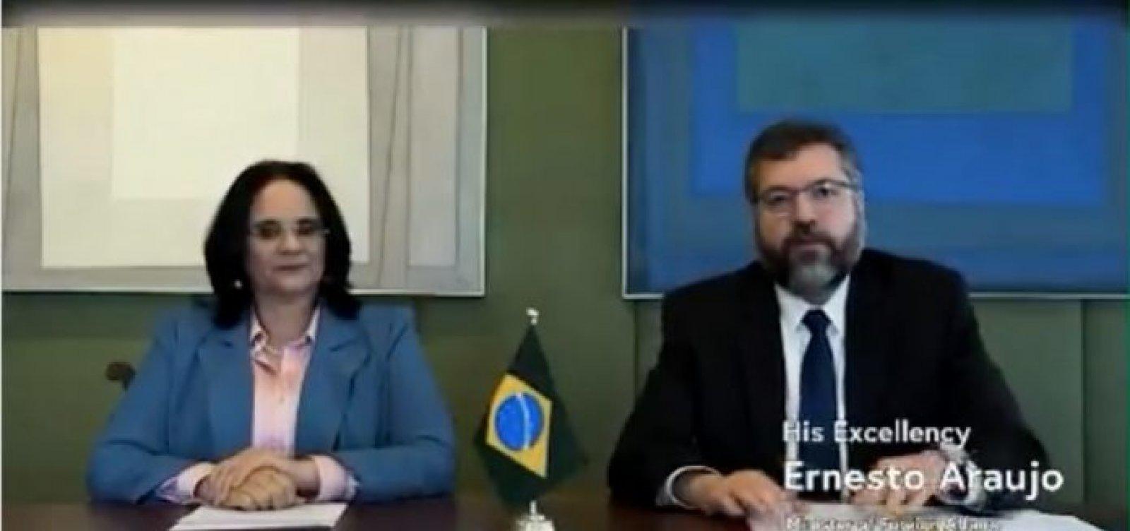 [Brasil se une a países conservadores e assina declaração internacional contra o aborto ]