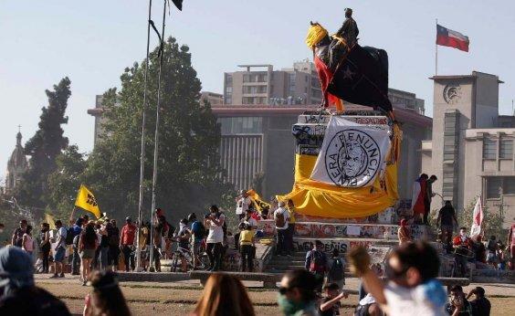 [Após protestos, Chile decide em plebiscito se muda Constituição do país]