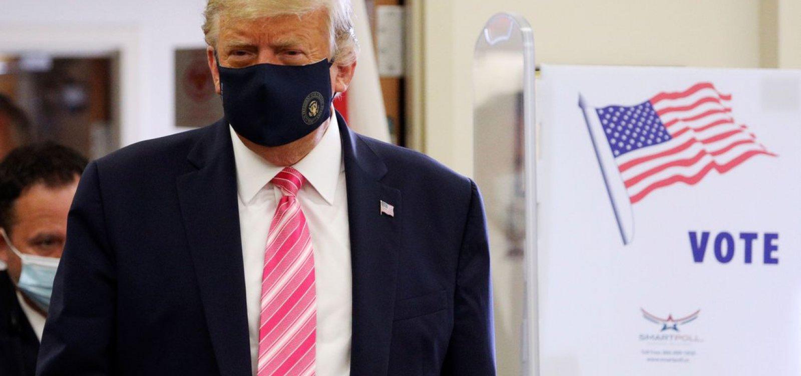 [Trump vota na Flórida e Biden vai à Pensilvânia]