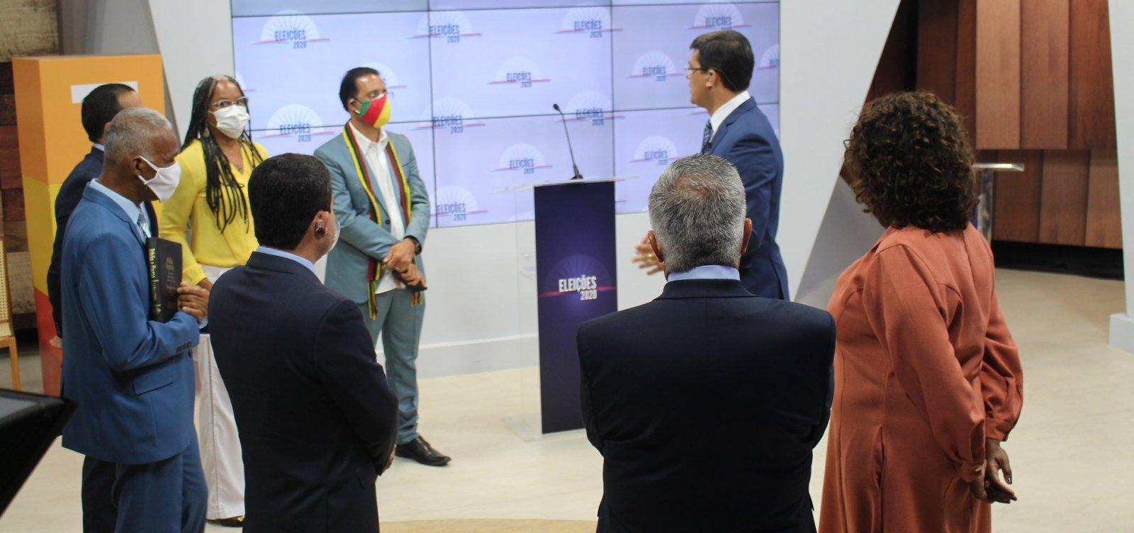 [Veja o que aconteceu no segundo debate entre os candidatos à prefeitura de Salvador]