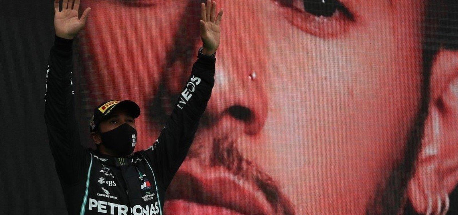 [Hamilton ultrapassa Schumacher e é o piloto com mais vitórias na história da Fórmula 1]