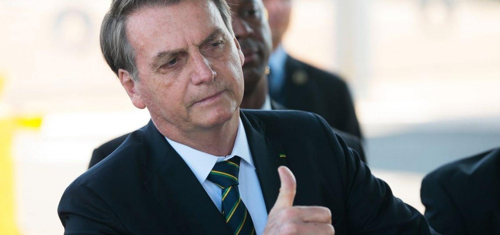 """[Bolsonaro se irrita com cobrança sobre preço do arroz: """"Vai comprar na Venezuela""""]"""