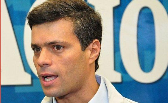 [Líder da oposição venezuelana, Leopoldo López chega à Espanha após fuga]