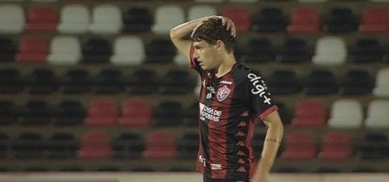 [Vitória perde para o Botafogo-SP e fica ameaçado pelo Z-4 da Série B]