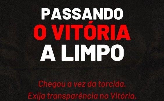 [Grupo recolhe assinaturas para exigir auditoria nas contas do Vitória]