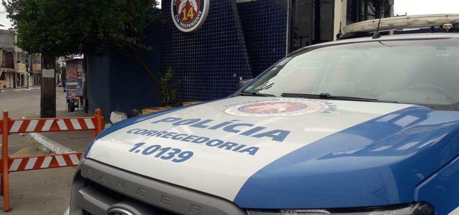 [Operação em Salvador prende seis policiais militares acusados de extorsão ]