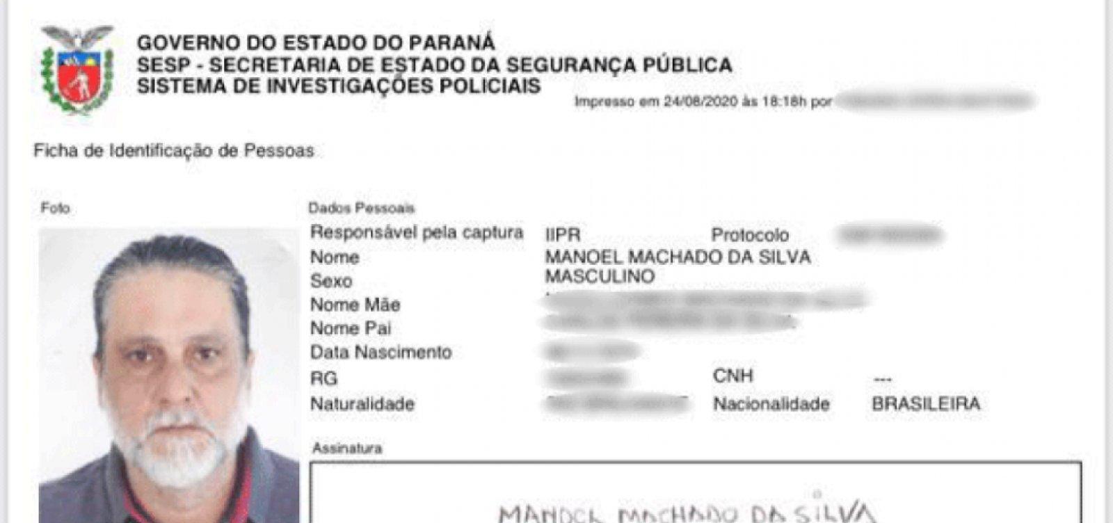 [Acusado de assassinar ator Rafael Miguel e os pais dele fez RG falso no Paraná]