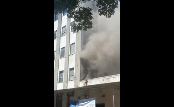 [Incêndio atinge hospital federal na zona norte do Rio de Janeiro]