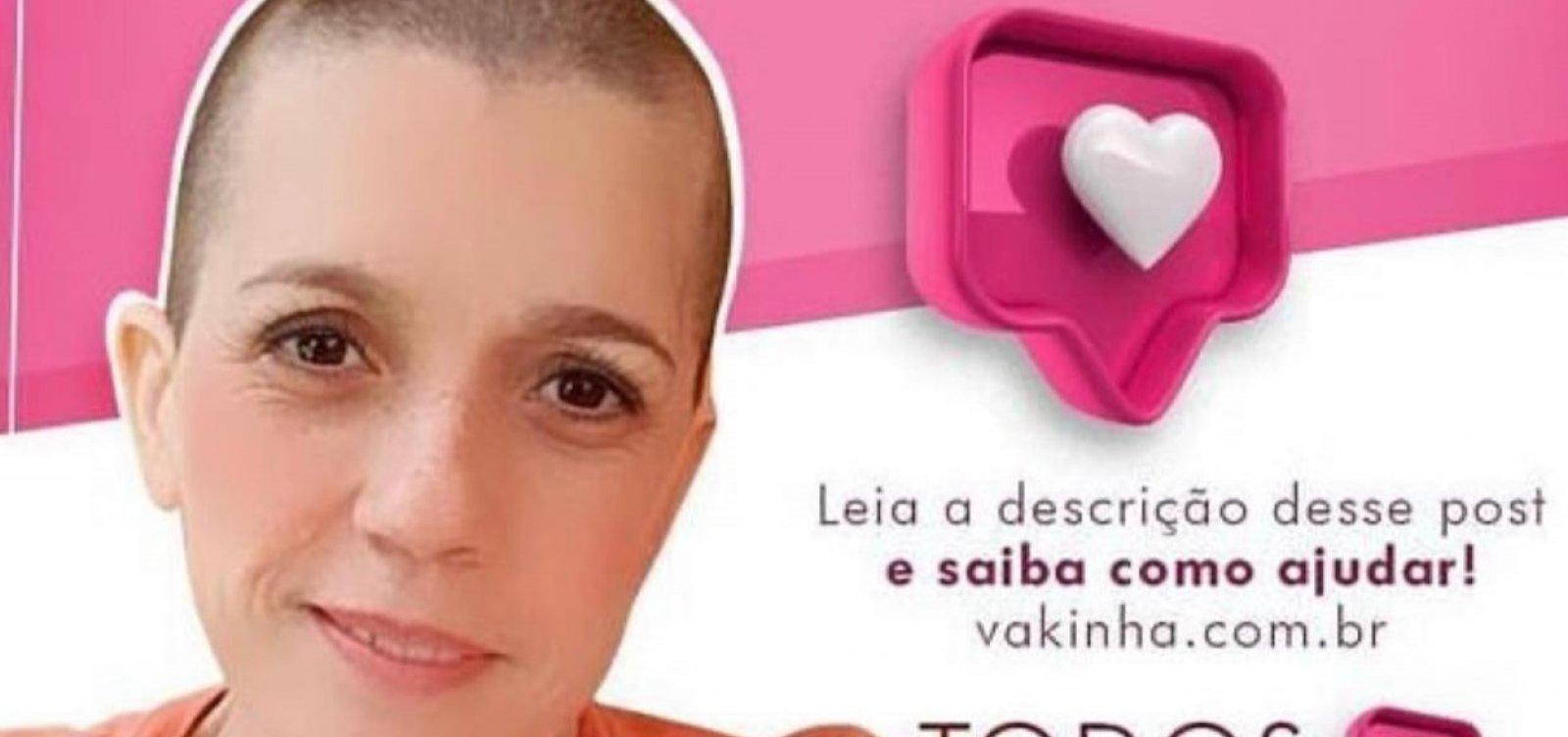 [Psicóloga baiana luta contra câncer e faz vaquinha virtual para pagar tratamento nos EUA]