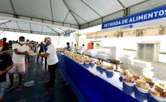 [Programa oferta cursos profissionalizantes de gastronomia para população vulnerável em Pau da Lima]