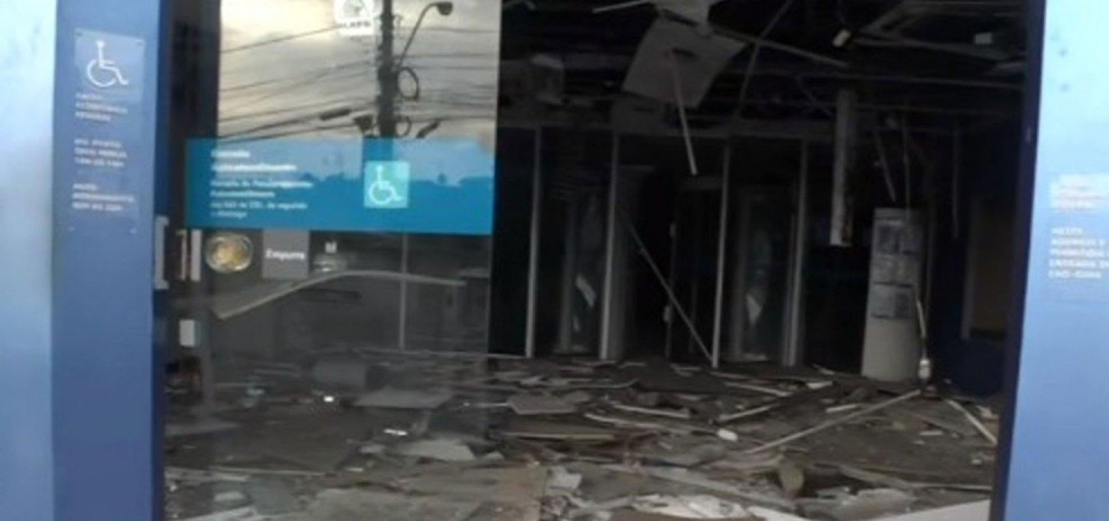 [Mais uma agência bancária é explodida em Salvador; este é o terceiro ataque em 20 dias]