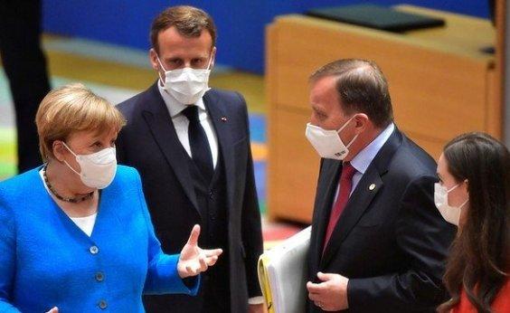 [Alemanha e França anunciam lockdown parcial para conter segunda onda da pandemia ]