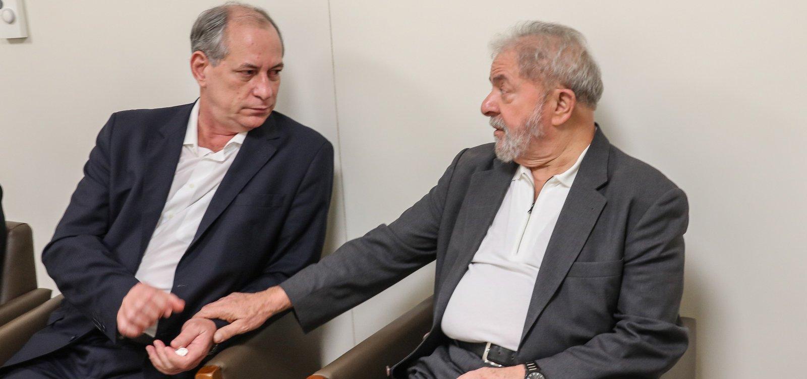 [Lula e Ciro se encontram e selam trégua após rompimento]