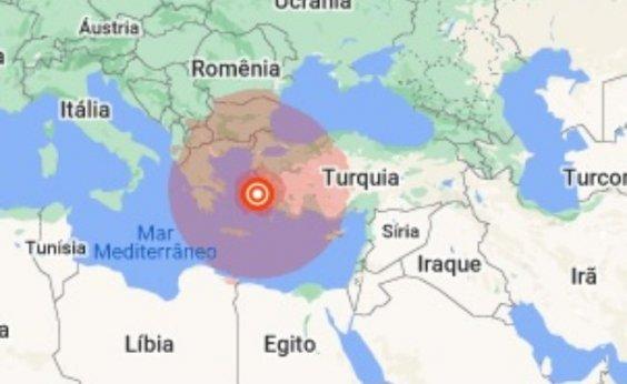 [Terremoto é sentido na Turquia e na Grécia; pelo menos quatro pessoas morreram e 120 ficaram feridas]