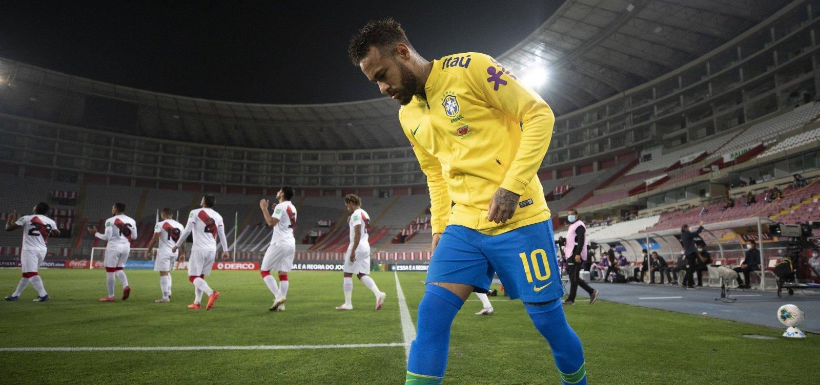 [CBF desconvoca Neymar após exame sobre lesão muscular]