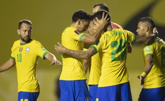 [Em jogo morno, Brasil vence a Venezuela por 1 a 0]