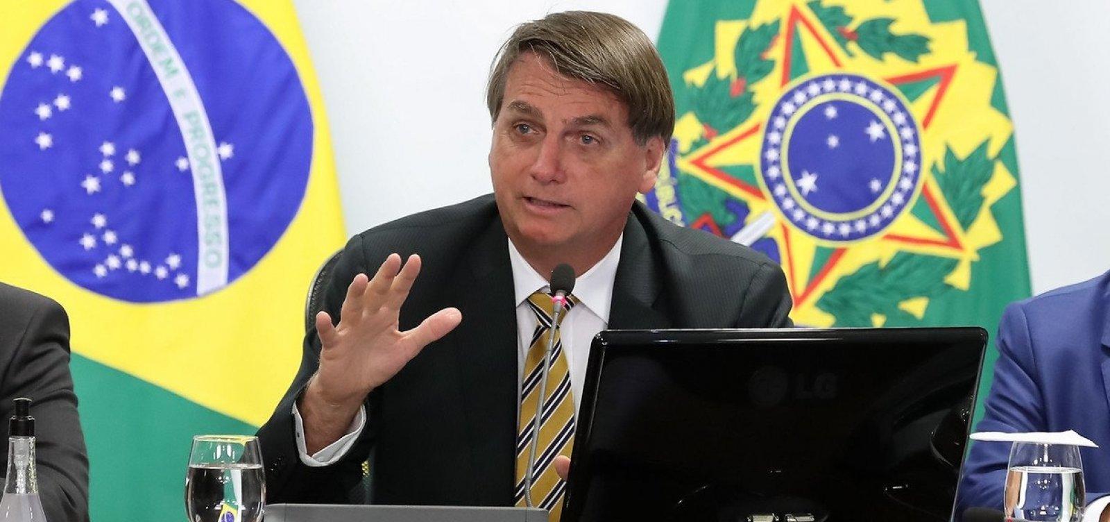 [Bolsonaro pede encontro com corregedor de tribunal que julgará caso de Flávio]